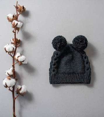 Cute Bear Beanie by Jona Bednjanec