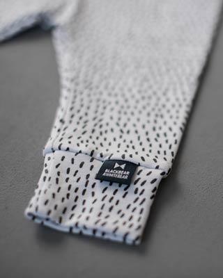 Blackbear&Whitebear White pants Line Print