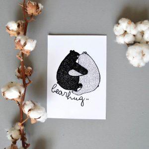 Bearhug Print