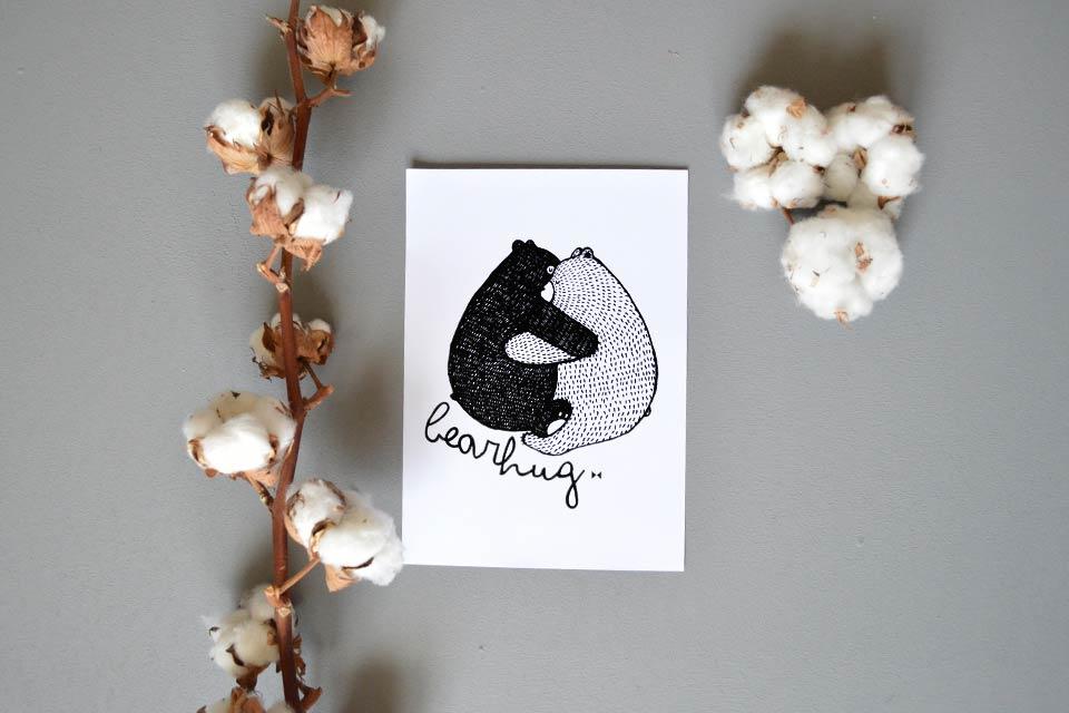 Bearhug-print