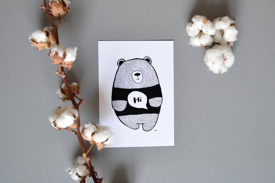 Hibear-print