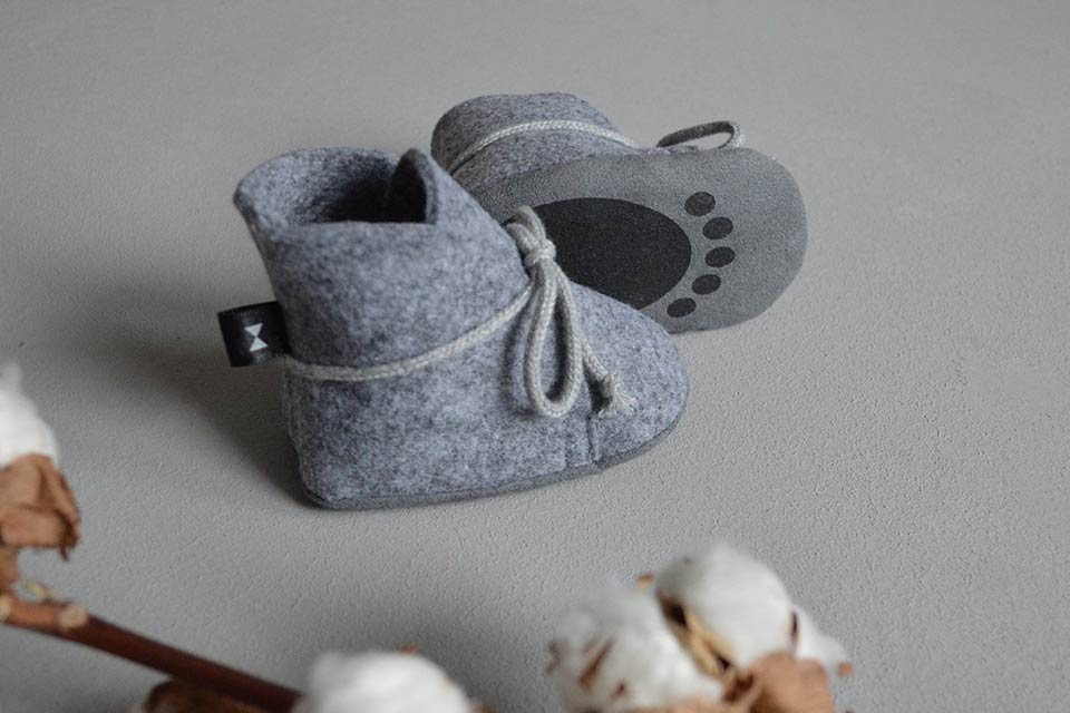 Cute Baby Bear Paws Boots