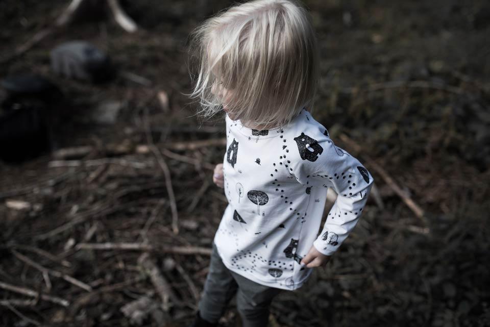Bear Forest Long Sleeve Shirt