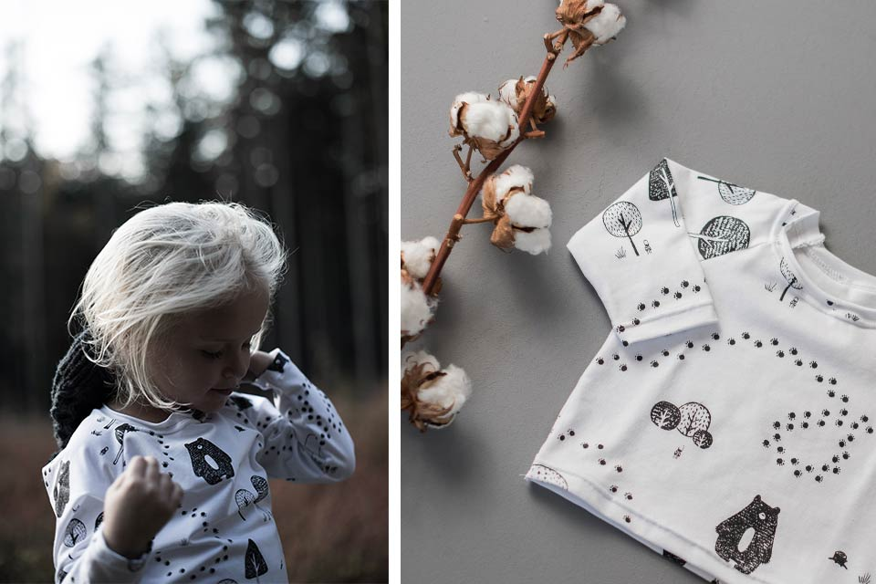 Kids Forest Long Sleeve Shirt