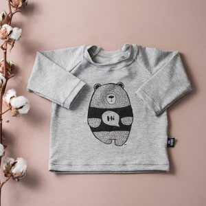 Cute Hi Bear Long Sleeve Shirt
