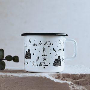 Spring Summer pattern coffee mug